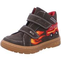 Schuhe Jungen Boots Lurchi Klettstiefel DIMI-TEX 33-13514-26 oliv