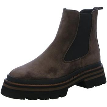 Schuhe Damen Low Boots Alpe Stiefeletten 20651110 braun