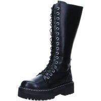 Schuhe Damen Klassische Stiefel Dockers by Gerli Stiefel 45VL205-610/100 schwarz