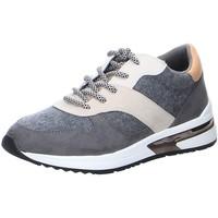 Schuhe Damen Sneaker Low La Strada Schnuerschuhe 200.2973-4503 grau