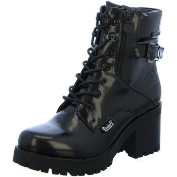 Schuhe Damen Low Boots Dockers by Gerli Stiefeletten 37CE319-600/100 schwarz