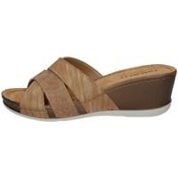 Schuhe Damen Pantoffel Tiglio 4460 BRONZE