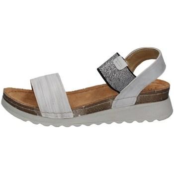 Schuhe Damen Sandalen / Sandaletten Tiglio 4396 SILBER