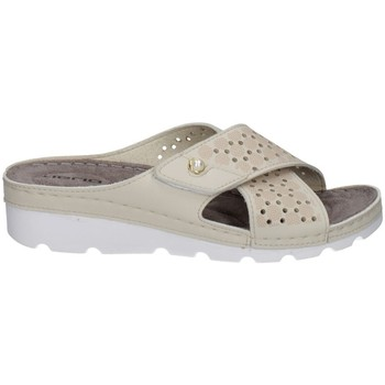 Schuhe Damen Pantoffel Tiglio 4342 BEIGE