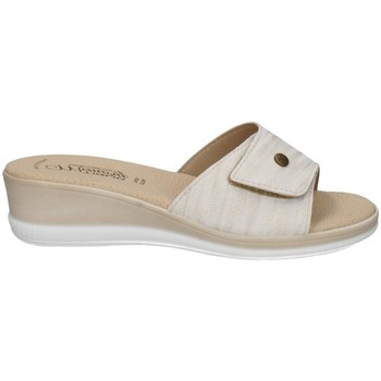 Schuhe Damen Pantoffel Tiglio 3223 PLATIN