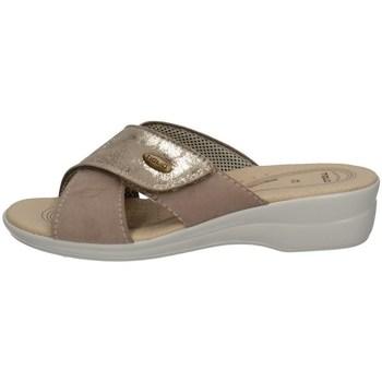 Schuhe Damen Pantoffel Tiglio 2377 BEIGE