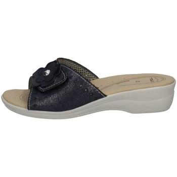 Schuhe Damen Pantoffel Tiglio 2302 BLAU