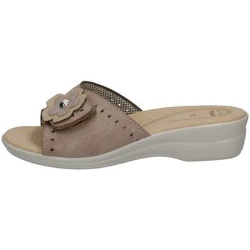 Schuhe Damen Pantoffel Tiglio 2302 BEIGE