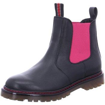 Schuhe Damen Boots Froddo Stiefeletten 3160157-1 schwarz