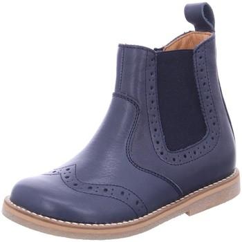 Schuhe Mädchen Boots Froddo Stiefel G3160142 blau