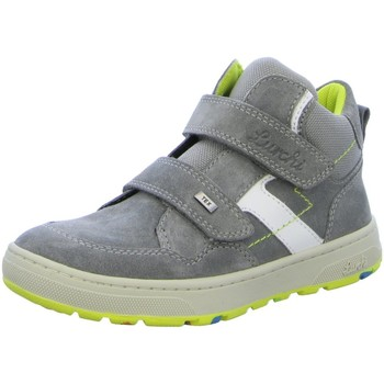Schuhe Jungen Sneaker High Lurchi Klettschuhe DALI-TEX 33-13526-25 25 grau