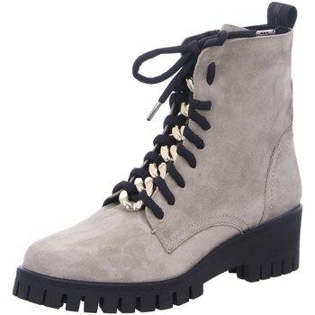 Schuhe Damen Low Boots Donna Carolina Stiefeletten D Boots kalt 46.699.057-002 beige
