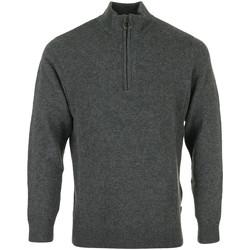 Kleidung Herren Pullover Barbour Holden Half Zip Grau