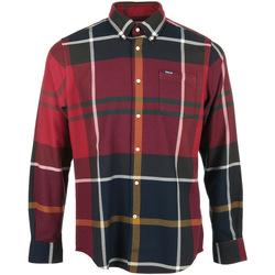 Kleidung Herren Langärmelige Hemden Barbour Dunoon Tailored Shirt Rot