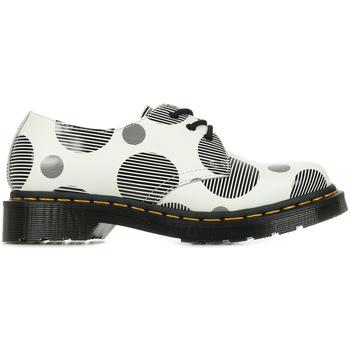 Schuhe Damen Derby-Schuhe & Richelieu Dr Martens 1461 Polka Dot Weiss