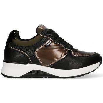 Schuhe Damen Sneaker Low Dangela 57863 schwarz