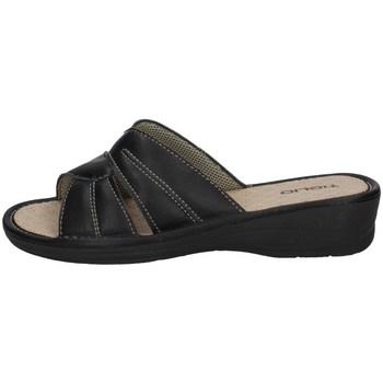 Schuhe Damen Pantoffel Tiglio 1621 SCHWARZ