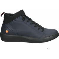 Schuhe Damen Sneaker High Softinos Sneaker Navy/Schwarz