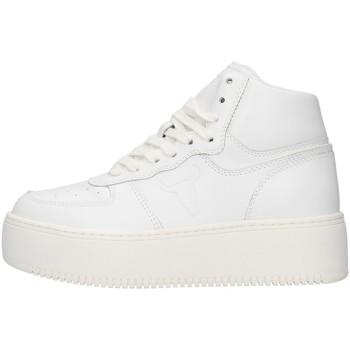 Schuhe Damen Sneaker High Windsor Smith WSPTHRIVE WEISS