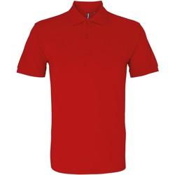 Kleidung Herren Polohemden Asquith & Fox AQ082 Rot