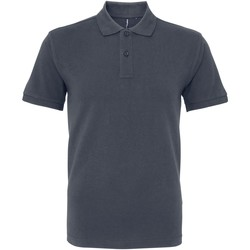 Kleidung Herren Polohemden Asquith & Fox AQ082 Grau