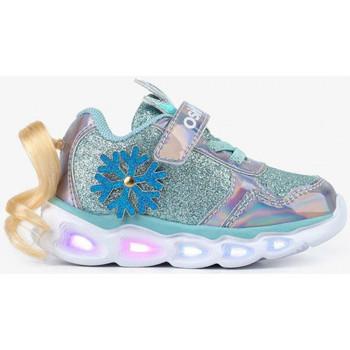 Schuhe Mädchen Sneaker Low Conguitos 1 LVS 14211 Silbern