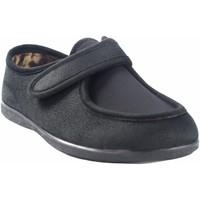 Schuhe Herren Hausschuhe Garzon Go home Gentleman  6870.244 schwarz Schwarz