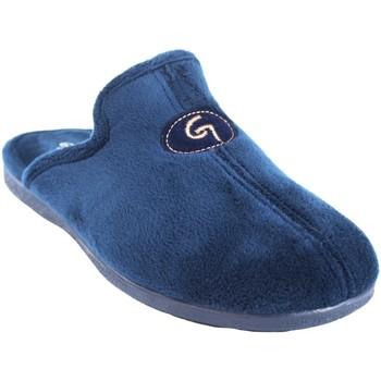 Schuhe Herren Hausschuhe Garzon Go home Gentleman  6101.247 blau Blau