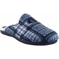 Schuhe Herren Hausschuhe Garzon Go home Gentleman  6001.292 blau Grau