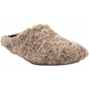 Schuhe Damen Hausschuhe Garzon Hause gehen Frau  5500.323 taupe Braun