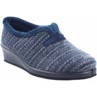 Schuhe Damen Hausschuhe Garzon Hause gehen Frau  1325.527 blau Blau