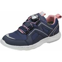 Schuhe Mädchen Sneaker Low Superfit Schnuerschuhe Halbschuh Synthetik \ RUSH 1-006218-8010 blau
