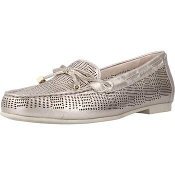 Schuhe Damen Slipper Stonefly CAPRI III 1 LAMINATED LTH Silber