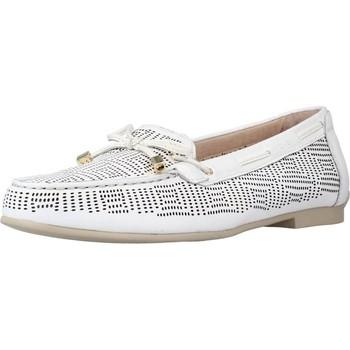 Schuhe Damen Slipper Stonefly CAPRI III 1 NAPPA LTH Weiß