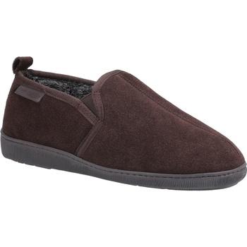 Schuhe Herren Hausschuhe Hush puppies  Braun