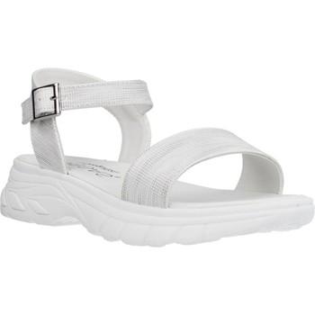 Schuhe Mädchen Sandalen / Sandaletten Conguitos LV553003 Silber
