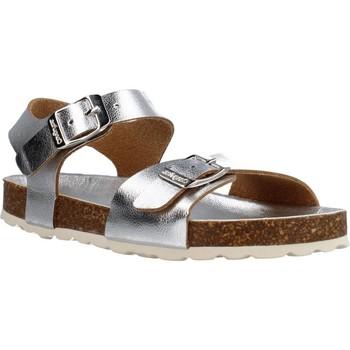 Schuhe Mädchen Sandalen / Sandaletten Conguitos LV128575 Silber