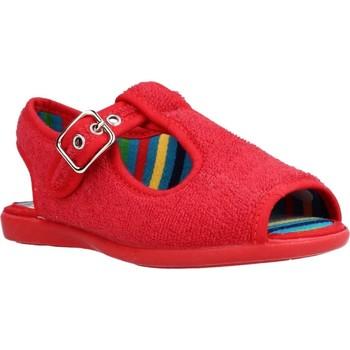 Schuhe Jungen Hausschuhe Chispas 38155000 Rot