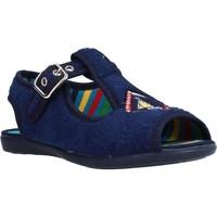 Schuhe Mädchen Hausschuhe Chispas 38155015 Blau