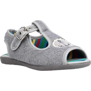 Schuhe Jungen Hausschuhe Chispas 38155016 Grau