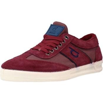 Schuhe Damen Sneaker Low Duuo NEW PERE 05 Rot