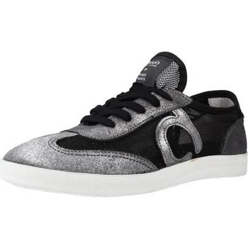 Schuhe Damen Sneaker Low Duuo M0OD 016 Schwarz