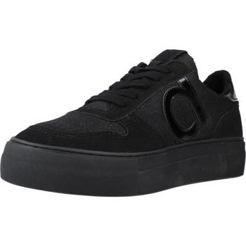 Schuhe Damen Sneaker Low Duuo RADIO HIGH 009 Schwarz