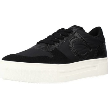 Schuhe Damen Sneaker Low Duuo JUMP 007 Schwarz