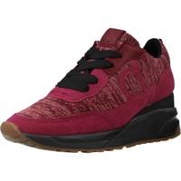 Schuhe Damen Sneaker Low Duuo RAVAL 018 Rot