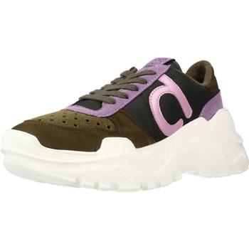Schuhe Damen Sneaker Low Duuo TALK 017 Brown