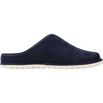Schuhe Herren Hausschuhe Nordikas 1260N Blau