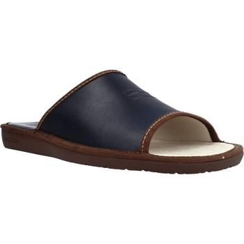 Schuhe Herren Hausschuhe Nordikas 6691DUBLIN Blau