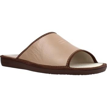 Schuhe Herren Hausschuhe Nordikas 6691DUBLIN Brown