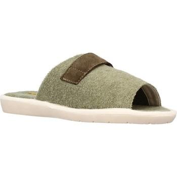 Schuhe Herren Hausschuhe Nordikas 7336B Grün